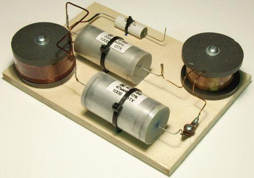 Схемы фильтров широкополосной акустики.